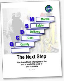 The Next Step Lean Management Book